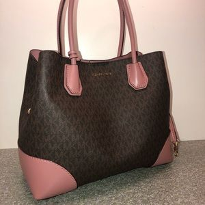 Michael Kors Mercer Logo Satchel